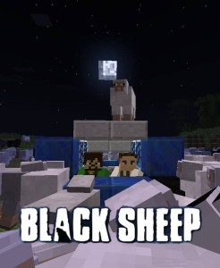 Black Sheep - Movie Posters in Minecraft