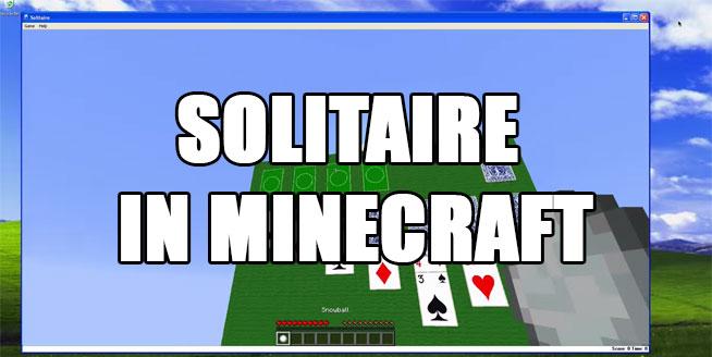 minecraft-solitaire