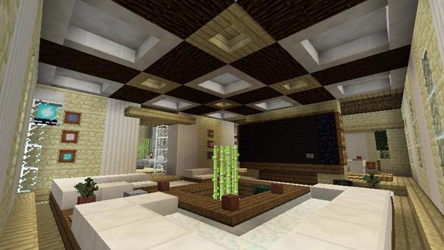 11 awesome furniture designs for your inspiration gearcraft for Room design ideas minecraft