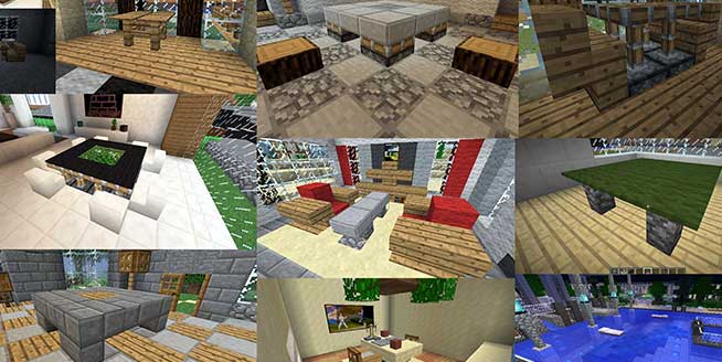 Minecraft Furniture Designs 11 awesome furniture designs for your inspiration | gearcraft