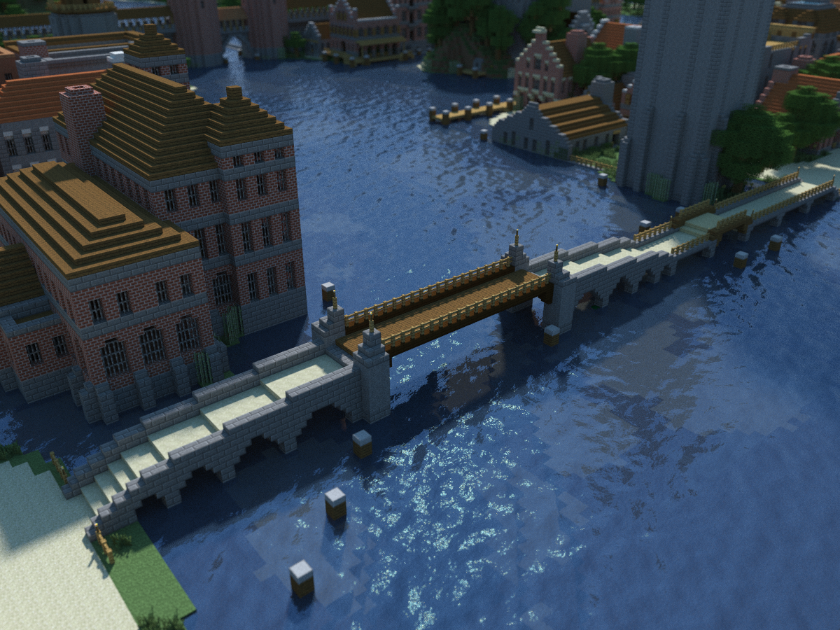 How To Build A Bridge In Minecraft Pe