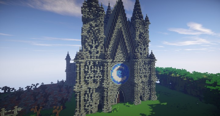 Minecraft Build Showcase Darkmorr Cathedral The Church
