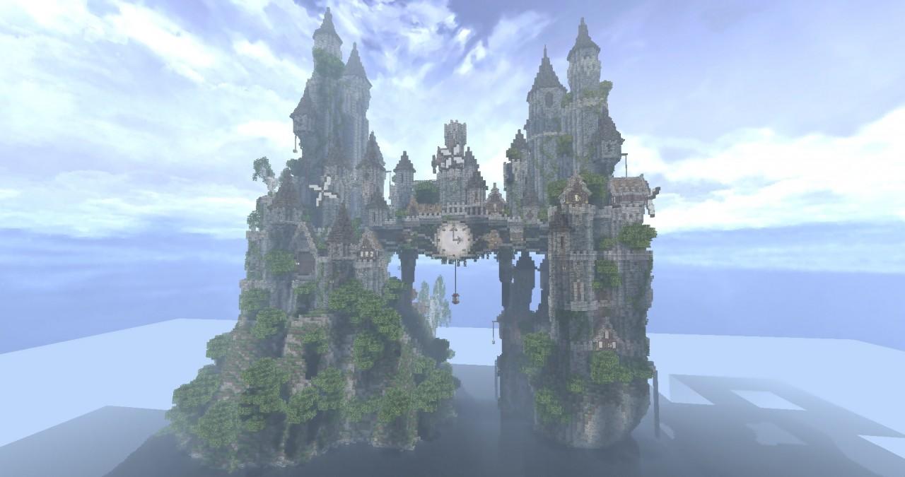 Clockwork Isle An Epic Minecraft Build Gearcraft