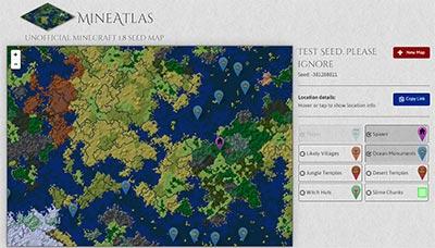 minecraft-MineAtlas