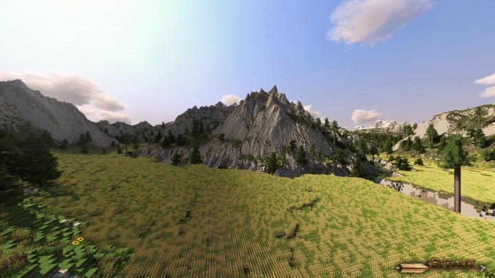 minecraft custom terrain