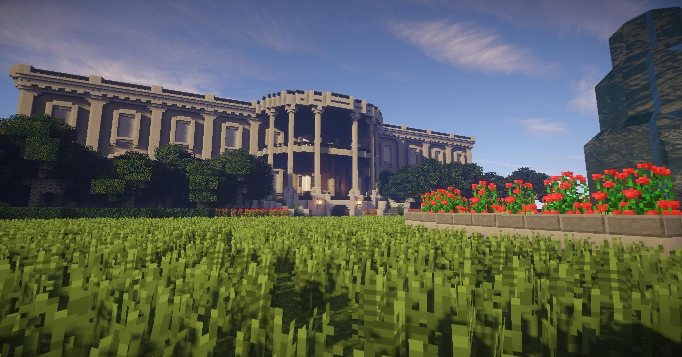 Check Out The White House Recreated In Minecraft Gearcraft