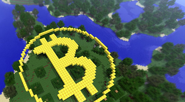 Earn Bitcoins While Playing Minecraft