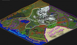 MineZ 2 Map via Reddit