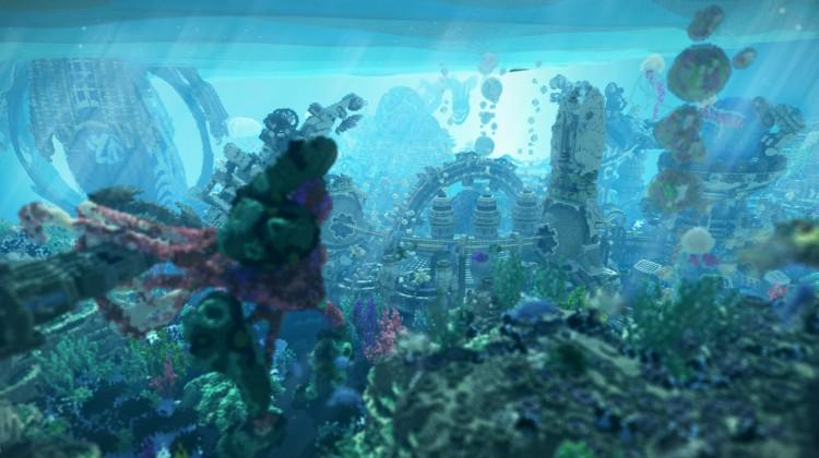 Download BlockWorks' Deep Sea Underwater Build