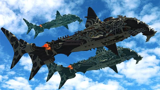 Rossky1751's Shark Airship