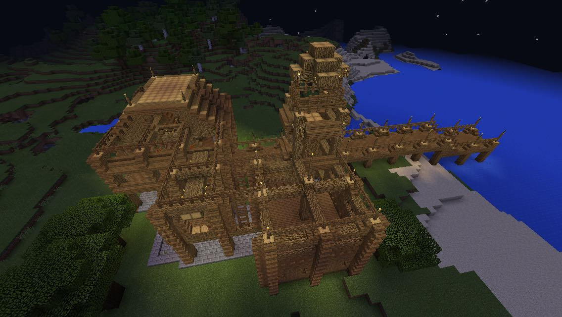 Proof That You Can Build Cool Things In Minecraft Pocket