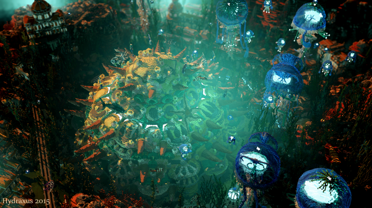Xephire Ancient Underwater City