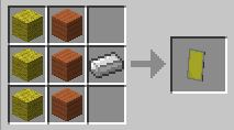 minecraft shield recepie
