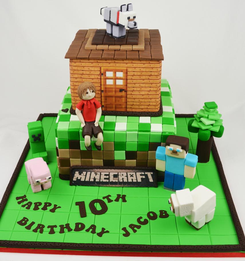 Best 25 Minecraft Ideas On Pinterest: Best Minecraft Cakes For 2015