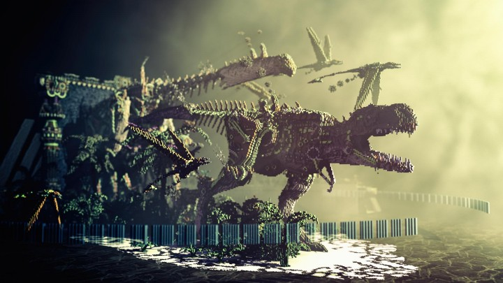 Steampunk Dinosaurs Rule In This Epic Build Gearcraft