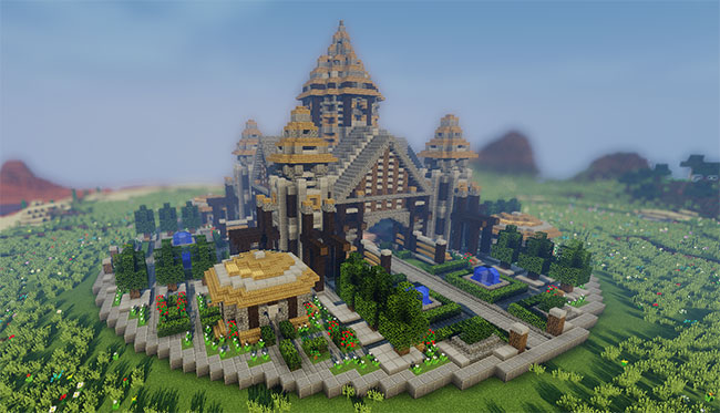 Download Waldheim An Epic Factions Spawn Gearcraft - Coole maps fur minecraft zum downloaden