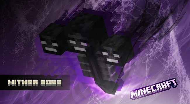 Wither Boss - Add a custom message at the top of the screen.