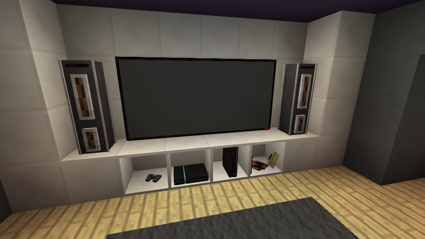 Check Out This Awesome Gaming Room Built In Minecraft
