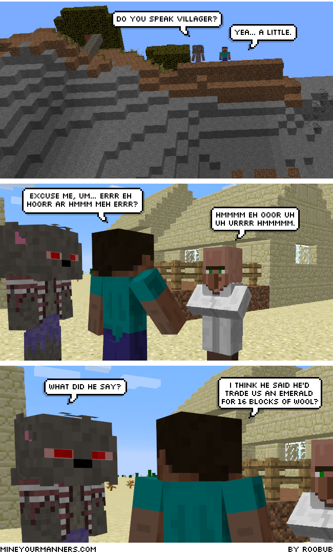 MYM230 Do You Speak VillagerB