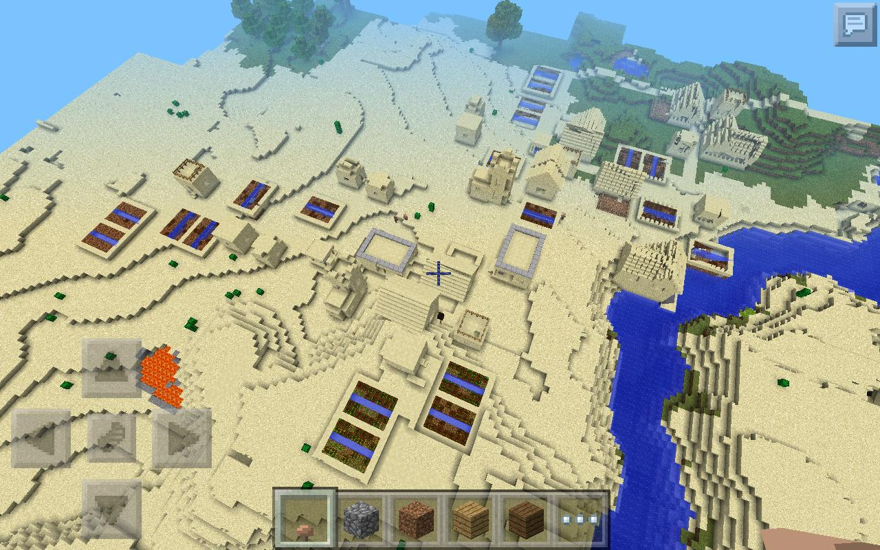 how to get seeds in minecraft pocket edition