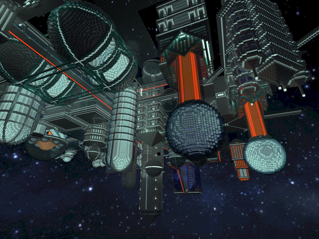 Check out This Awesome Minecraft Space Station Built in ...