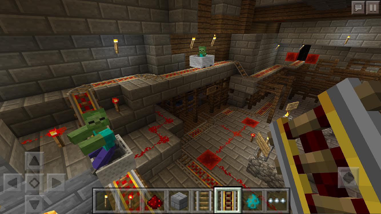 Redstone, Bunnies & Doors Make an Appearance in the Latest Pocket Edition Update! | Gearcraft