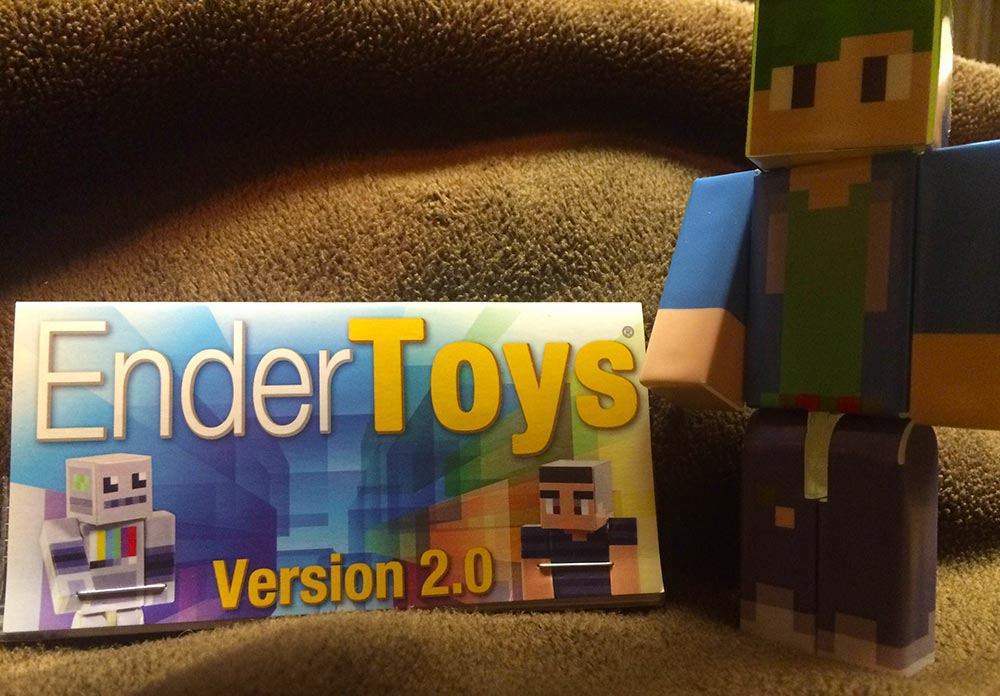 EnderToys Minecraft Action Figures by SuesCraft | Gearcraft