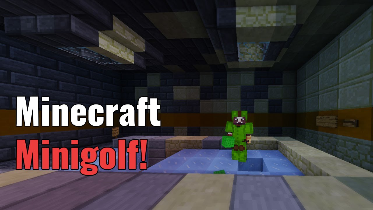 Can You Hit Par for Course in Minigolf 4? | Minecraft Minigame Map | Gearcraft