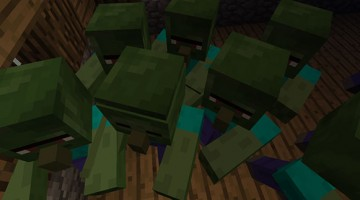 Repopulating Your Minecraft World: The Zombie Villager Method