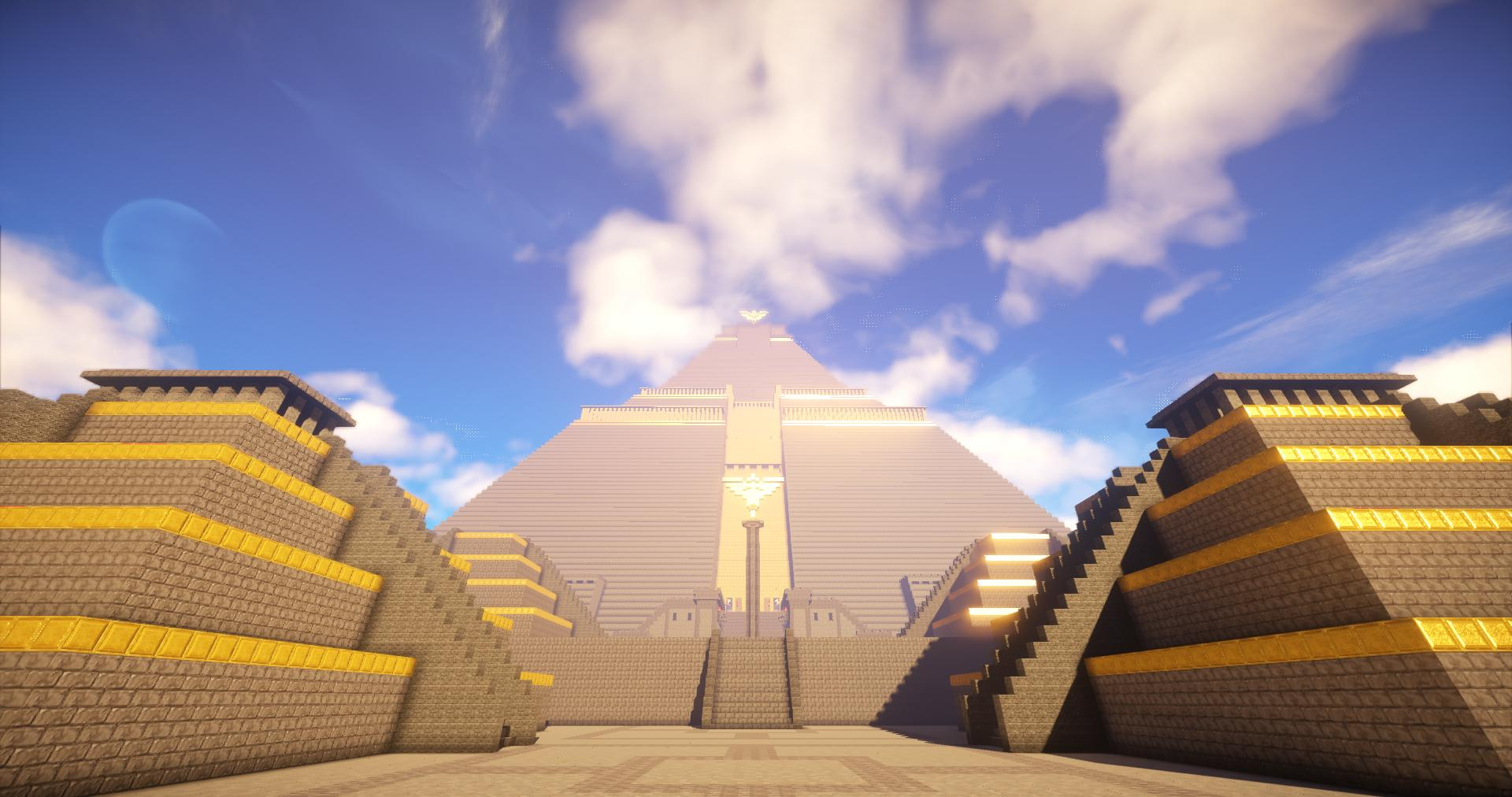 Minecraft Egypt Map.Epic Build The Great Pyramid Of Meereen Game Of Thrones Gearcraft