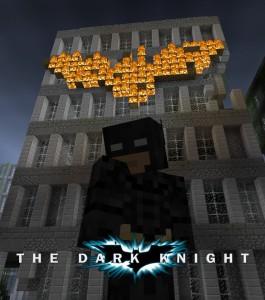 The Dark Knight - Movie Posters in Minecraft