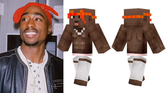6 Hip Hop Stars in Minecraft (Find out 2pac's Killer