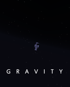 Gravity - Movie Posters in Minecraft