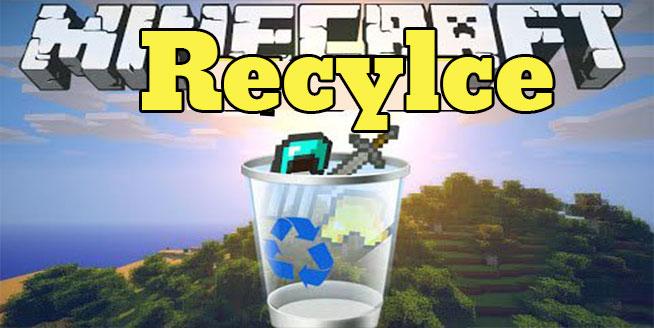 Minecraft-Recyle-Plus-mod