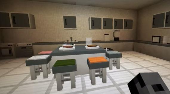 the latest update to the minecraft kitchen - Minecraft Kitchen