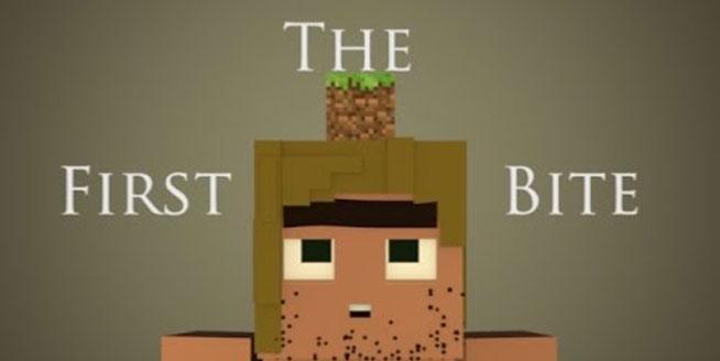 minecraft caveman animation