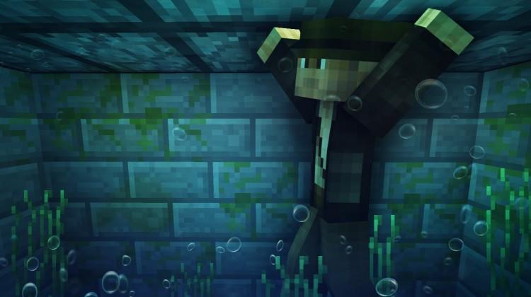 Minecraft breathe underwater
