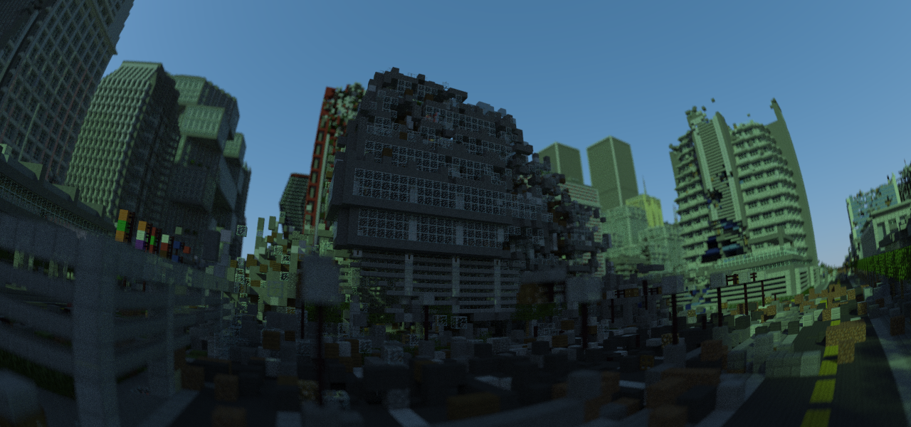 War Never Changes, and This Minecraft City Proves It ...