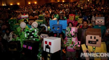 Minecon via GamesNosh