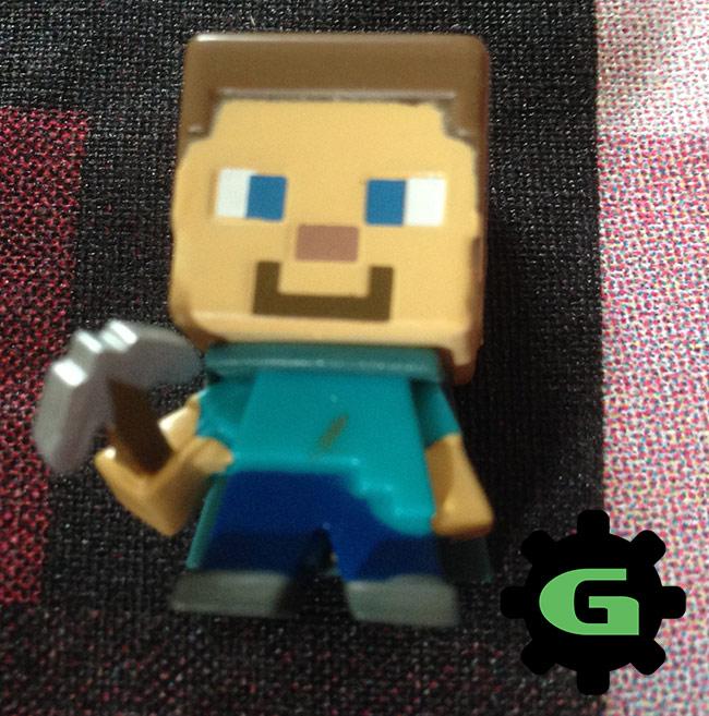 Minecon Steve Action Figure with Cape