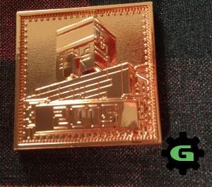 Minecon Gold Commemorative Pin