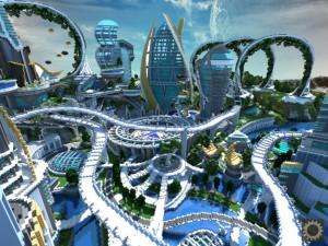 Disney's TomorrowLand by BlockWorks