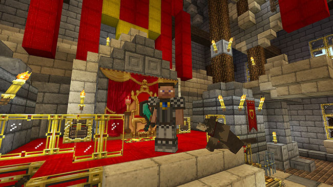 minecraft pe christmas texture pack free download