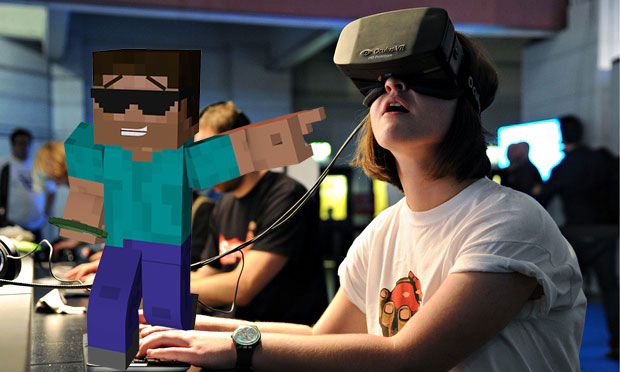 OculusVR Founder Announces Minecraft on Oculus Rift This Spring