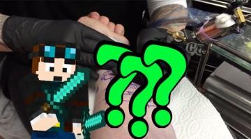 Dan the Diamond Minecart's Tattoo