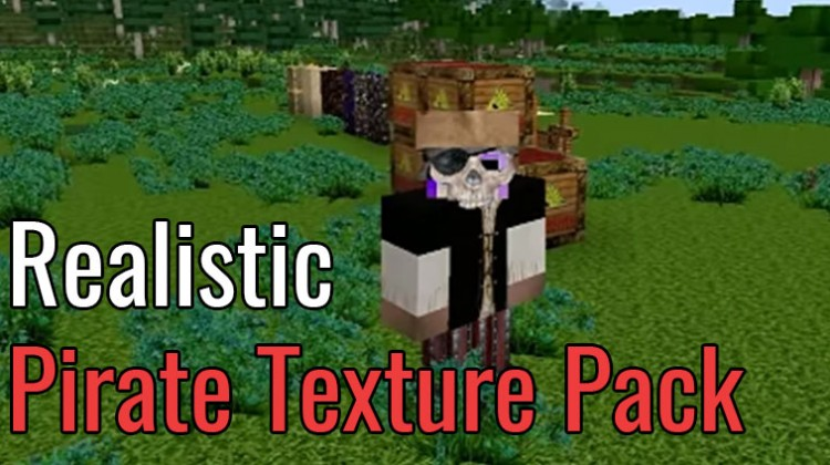 Realistic Pirate Resource Pack Review
