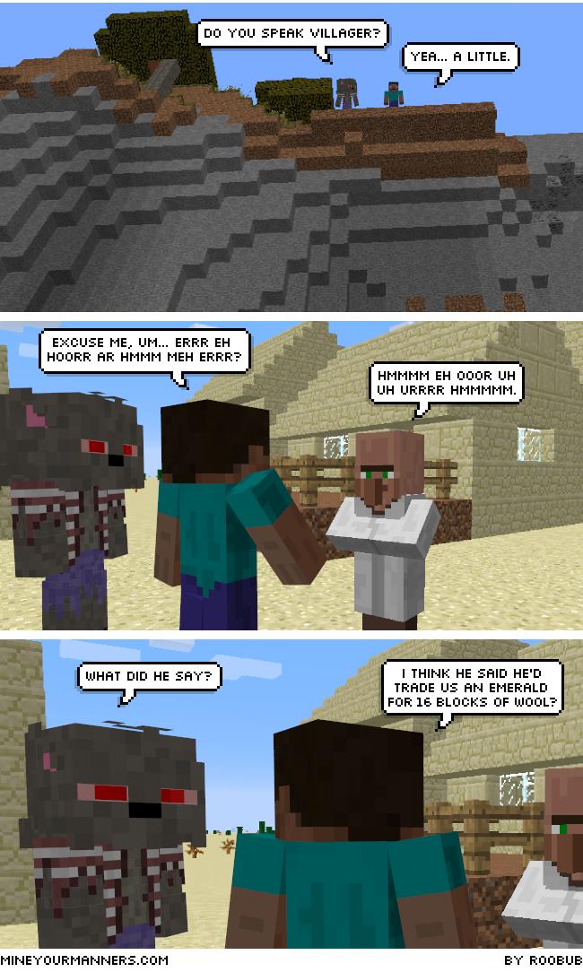 MYM230 Do You Speak VillagerB