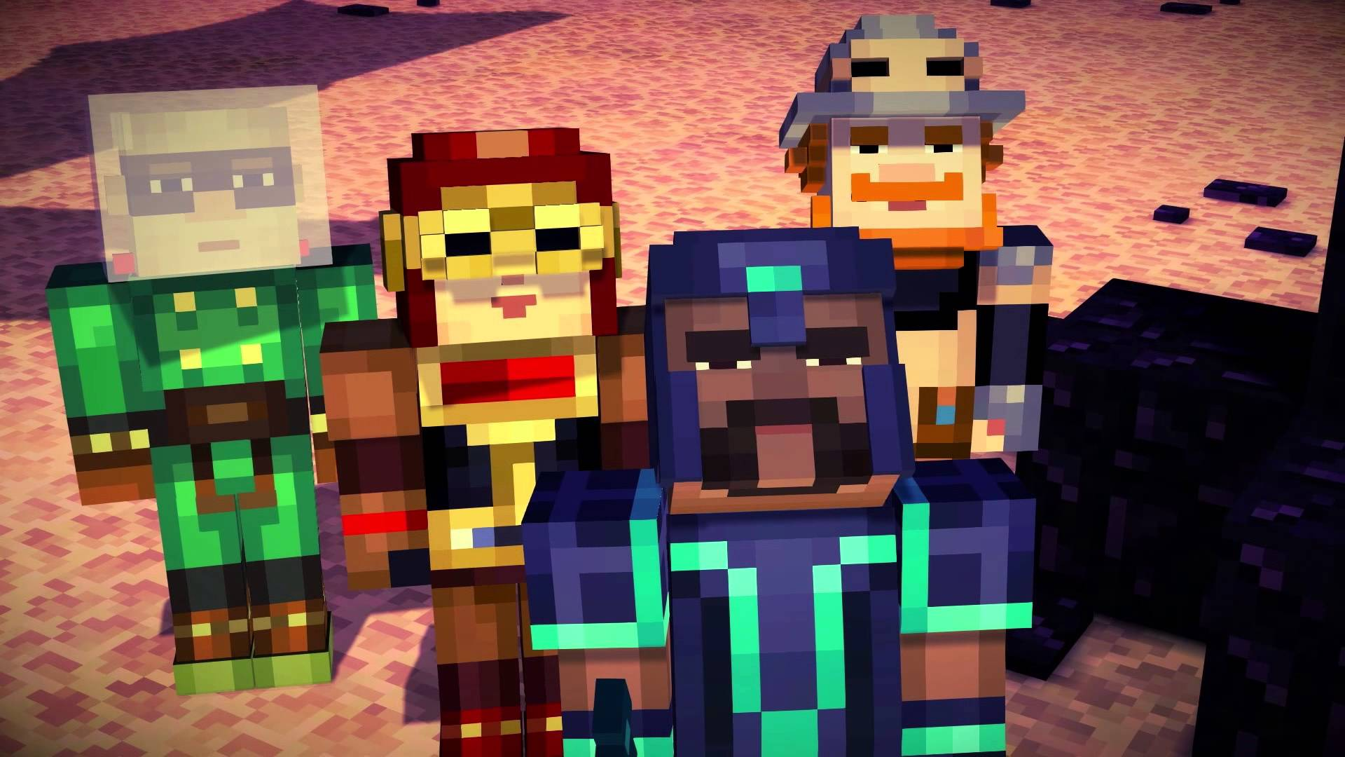 Review Minecraft Story Mode Is A Lot Of Fun But Not