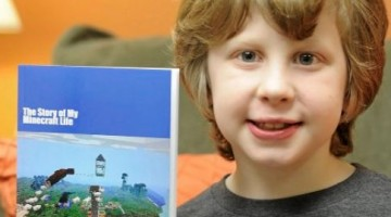 Kid Writes Popular Minecraft Book Sells on Amazon